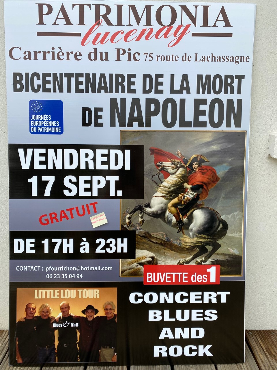 Lucenay JEP 2021 Napoléon & Little Lou Tour 1890 Bis